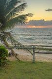 As praias-Pontal brasileiras fazem Coruripe, Alagoas Fotos de Stock Royalty Free