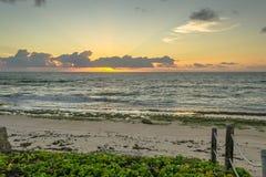 As praias-Pontal brasileiras fazem Coruripe, Alagoas Fotografia de Stock