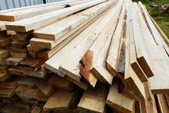 As pranchas de madeira na cerca Imagem de Stock