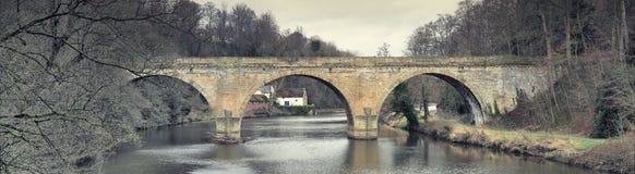 As prebendas constroem uma ponte sobre, Durham Fotos de Stock Royalty Free