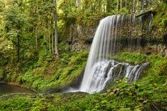 As quedas médias do norte, prata caem parque estadual Imagem de Stock Royalty Free