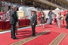 As raças para o prêmio do presidente do RF imagens de stock royalty free