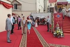 As raças para o prêmio do presidente do russo Federati Imagem de Stock