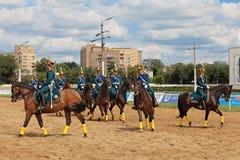 As raças para o prêmio do presidente do russo Federati Imagem de Stock Royalty Free
