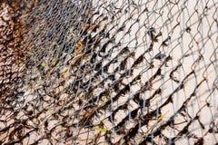 As redes de pesca decoraram imagens de stock