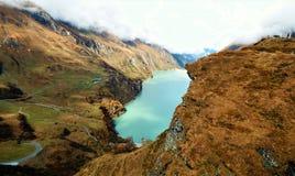 As represas de Kaprun em Zell Am veem, Áustria Foto de Stock
