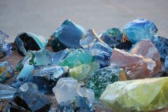 As rochas bonitas de Zion Foto de Stock Royalty Free