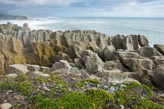 As rochas da tempestade e da panqueca fotografia de stock royalty free