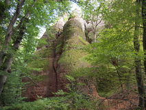 As rochas de Belogradchik & o x28; Bulgaria& x29; Imagem de Stock Royalty Free