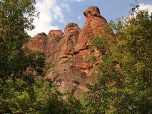 As rochas de Belogradchik & o x28; Bulgaria& x29; Fotografia de Stock