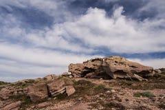 As rochas de Sardinia Imagens de Stock Royalty Free