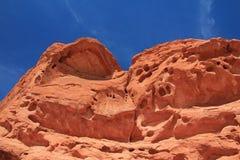 As rochas nomearam sete irmãs, vale do parque estadual do fogo, EUA Fotos de Stock