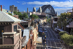 As rochas Sydney Australia fotografia de stock