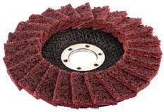 As rodas abrasivas isoladas em um fundo branco Fotografia de Stock Royalty Free