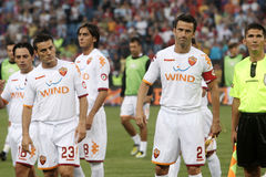 AS Roma. Vs. Steaua Bucharest royalty free stock images