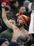 AS Roma football fans Stock Images