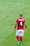 AS Roma soccer player Royalty Free Stock Photos