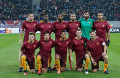 AS ROMA team picture Stock Image
