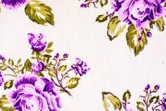 As rosas de florescência do verão, teste padrão floral pintaram a silhueta das flores do jardim, bonita Fotografia de Stock