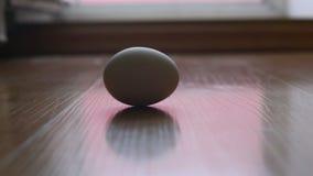 As rotações do ovo na telha filme