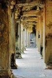 As ruínas antigas de Angkor Wat em Camboja fotografia de stock royalty free