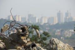 As ruínas da cidade Foto de Stock Royalty Free