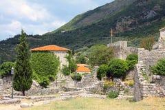 As ruínas da cidade antiga da barra Fotos de Stock Royalty Free