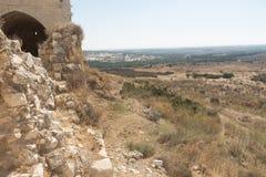 As ruínas da fortaleza do cruzado Imagem de Stock Royalty Free