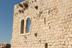 As ruínas da fortaleza do cruzado Imagens de Stock Royalty Free
