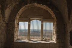 As ruínas da fortaleza do cruzado Imagens de Stock