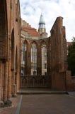 As ruínas da igreja foto de stock