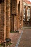 As ruínas da igreja fotografia de stock