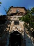 As ruínas da igreja Imagens de Stock Royalty Free
