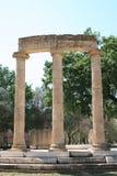 As ruínas da Olympia, Greece Fotos de Stock Royalty Free