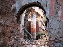 As ruínas da propriedade nobre Foto de Stock Royalty Free