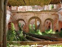 As ruínas da propriedade nobre Imagem de Stock
