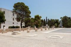 As ruínas de Carthage, Tunísia, África fotografia de stock