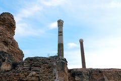 As ruínas de Carthage, Tunísia Fotos de Stock