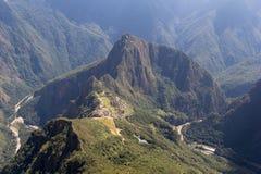 As ruínas de Machu Picchu Imagem de Stock