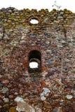 As ruínas de uma igreja velha Fotografia de Stock