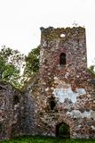 As ruínas de uma igreja velha Foto de Stock Royalty Free