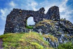 As ruínas do castelo de Kostalov Imagem de Stock Royalty Free