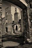 As ruínas do moinho de Rockwood Foto de Stock