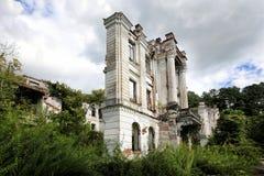 As ruínas do palácio do príncipe Smetsky fotografia de stock royalty free