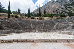 Teatro Delphi Greece Fotos de Stock Royalty Free
