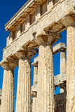 As ruínas do templo esquisito Imagem de Stock Royalty Free