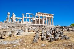 As ruínas do templo esquisito Fotografia de Stock Royalty Free