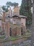 As ruínas dos templos romanos Imagens de Stock Royalty Free