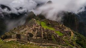 As ruínas famosas do inca do picchu do machu em peru Imagens de Stock Royalty Free
