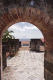 Saint Pierre arruinado em Martinica Fotos de Stock